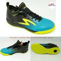 Sepatu Futsal Specs Metasala Musketeer Black Blue Futsall