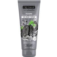 Freeman Polishing Charcoal & Black Sugar Gel Mask & Scrub 175ml