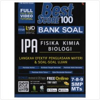 Best Score 100 Bank Soal IPA SMP MTS Kelas 7, 8, 9