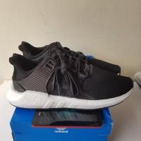 Adidas EQT Original 93-17 Primeknit Black Milled Leather