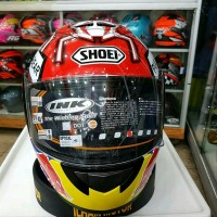 HELM INK CL MAX REPAINT SHOEI MARQUES