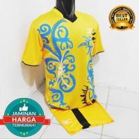 Jersey Volly Mizuno Batik-Seragam Olahraga-Kaos Bola-Baju Badminton-