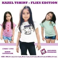 Kazel T-SHIRT Anak Bayi Cewek Perempuan FLIES EDITION