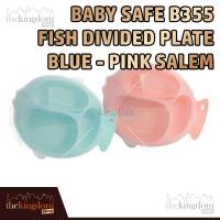 Baby Safe B355S Fish Plate Piring Sekat Makan Anak Bayi