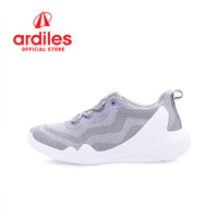 Ardiles Men Kinshasa Sepatu Sneakers - Putih Abu - Putih Abu, 39