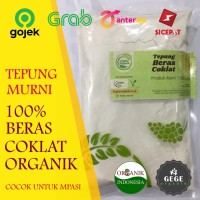 500gr Tepung Organik Beras Coklat / MPASI / GASOL