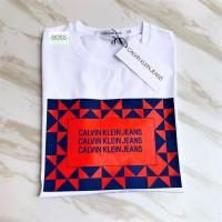 CALVIN KLEIN JEANS T Shirt Original KAOS PRIA COWO
