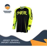 Jersey Sepeda Import ONEAL N017 Downhill MTB Baju Gowes Lengan Panjang