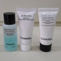 Chanel Le Blanc, Hydra Beauty Micro Serum, Dermaquillant Yeux Intens