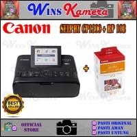 Printer Canon SELPHY CP1300 / CP-1300 + Paper Canon RP108