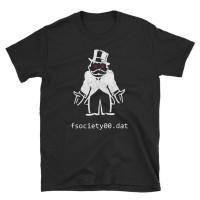 Mr Robot Inspired fsociety001.dat - Mr. Robot Inspired T Shirt
