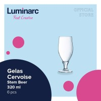 Luminarc Gelas Cervoise - Stem Beer 320 ml - 6 pcs