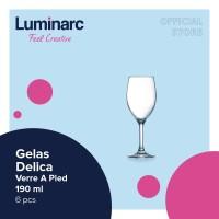 Luminarc Gelas Delica - Verre A Pied 190 ml - 6 pcs