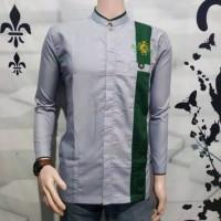 baju koko seragam hadroh gus azmi motif bordil NU