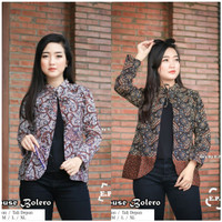 Baju batik wanita blouse bolero cantik