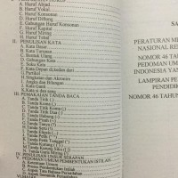 Buku EYD | Ejaan Bahasa Indonesia Yg Di Sempurnakan