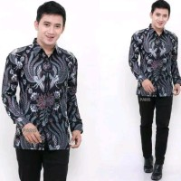 Kemeja Batik Pria Resmi Terbaru Baju Batik Cowok Trend Anak Muda Baju