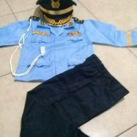 NEW ARRIVAL Seragam Anak Jenderal TNI AU ukuran 1 4 Baju Karnaval