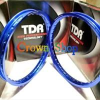 Bagus Velg TDR ring 17 model kotak W shape lebar 140-160 ring Gp