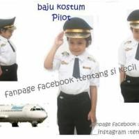 DISKONGILA Baju Anak Kostum Pilot Karnaval TK Kostum profesi