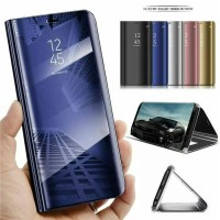 Flip case Clear View Cover Mirror Standing Samsung A70