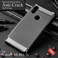 Anti Crack Soft Case Xiaomi Mi Mix 2s Softcase Silikon Casing Cover