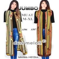 Coat Muslim Atasan batik wanita tunik batik baju batik fashion muslim