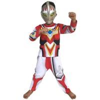 PALING LARIS Baju Anak Kostum Topeng Superhero Ultraman Go