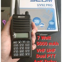 HT SCOM UV92 PRO VHF UHF DUAL PTT alt ht baofeng uv5r uv6r uv9r uv82
