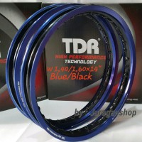 Bagus VELG TDR 2 tone WX 1.40&1.60 Ring 14 Blue-Black Gp