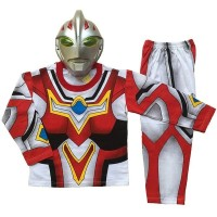 DISKONAN Baju Anak Kostum Topeng Superhero Ultraman Go