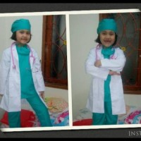 Cuci Gudang Baju Profesi Dokter Bedah Ukuran Xs S M Kostum Anak