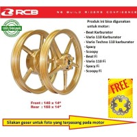 Velg Racing Boy RCB SP522 Matic ring 14 Beat Scoopy Spacy Vario 110 Fi