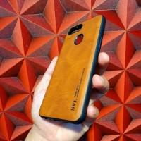 OPPO F9 Luxury TPU Hard Soft Back Case Cover Pelindung mewah elegan