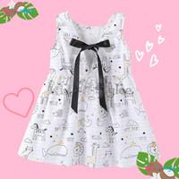 Baju Dress Pakaian Gaun Anak Perempuan Cewek Casual Import Murah