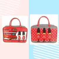 Tascorner travelbag Kanvas London Prajurit koper baju Anak Dewasa