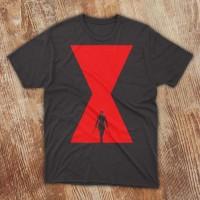 Kaos T-shirt Tshirt T Shirt Black Widow 1 Marvel Avengers Movie Film