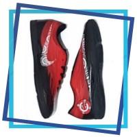 Sepatu futsal Nike CR7 Merah kombinasi Hitam