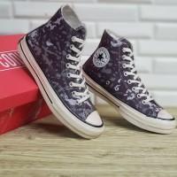 Converse X Bape sepatu sneakers sepatu tinggi sepatu pria dan wanita