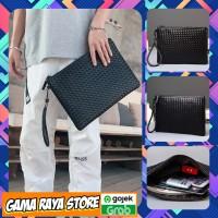 Clutch Bag Pria Men - Tas Tangan Pria ETONWEAG (Size L Besar)