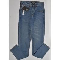 Celana Jeans Panjang Pria Nevada Biru Tua Slimfit Jns 02 Original - 28
