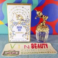 Miniatur Parfum OriginaL Anna Sui Fantasia EDT 5 ml For Women Murah