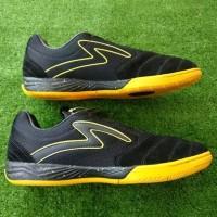 Sepatu Futsal Specs Murah Metasala Rival Black Yelow Original