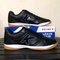 Sepatu Futsal Kelme K-Strong Black Negro
