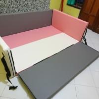 Pagar box bayi - Bumper bed Playmat - baby playgym playmate