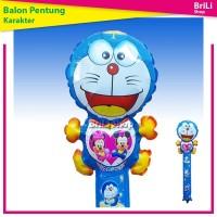 Balon Pentung Doraemon   Balon Tongkat   Souvenir Ultah