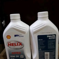 Oli Mesin ASTRA Shell Helix 10W-30 kemasan 1 liter