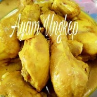 Ayam ungkep bumbu kuning PAHA BAWAH siap goreng/bakar