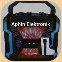 Speaker Portable Profesional ASATRON 8 inch