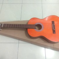 gitar classic nylon natural bonus tas